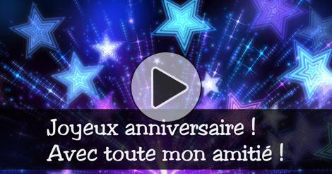 Carte Virtuelle Joyeux Anniversaire Amitie Gratuite