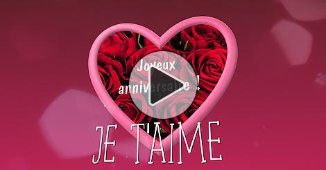 Carte Virtuelle Cartes D Anniversaire D Amour Gratuite