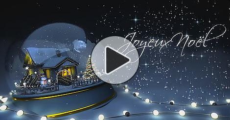 Carte noel animee - Joliecarte.com