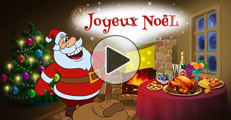 Carte joyeux noel dessin - Joliecarte.com