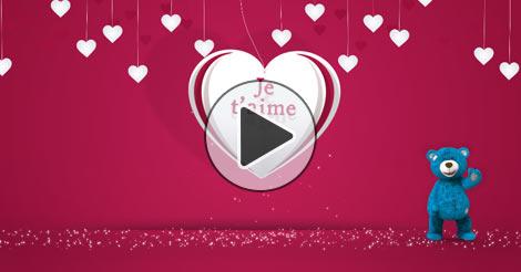 Cartes d 39 amour joliecarte - Carte saint valentin a fabriquer ...