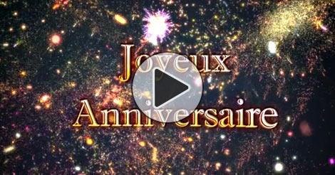 carte animée anniversaire gratuite Carte virtuelle Joyeux anniversaire gratuite