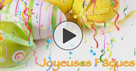 Carte Virtuelle Cartes Joyeuses Pâques Gratuite