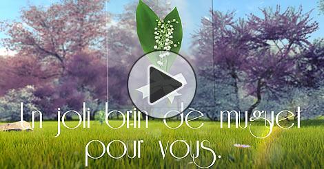 Muguet 1er Mai Et Brin De Muguet Porte Bonheur Gratuit