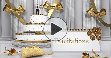 carte virtuelle felicitations mariage. Black Bedroom Furniture Sets. Home Design Ideas