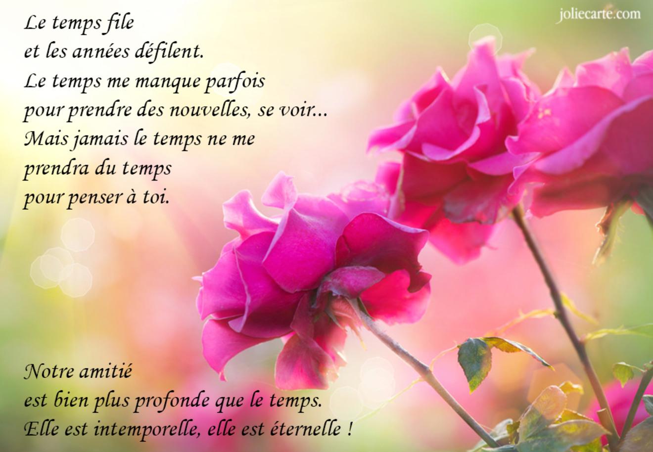 Carte amitie poeme