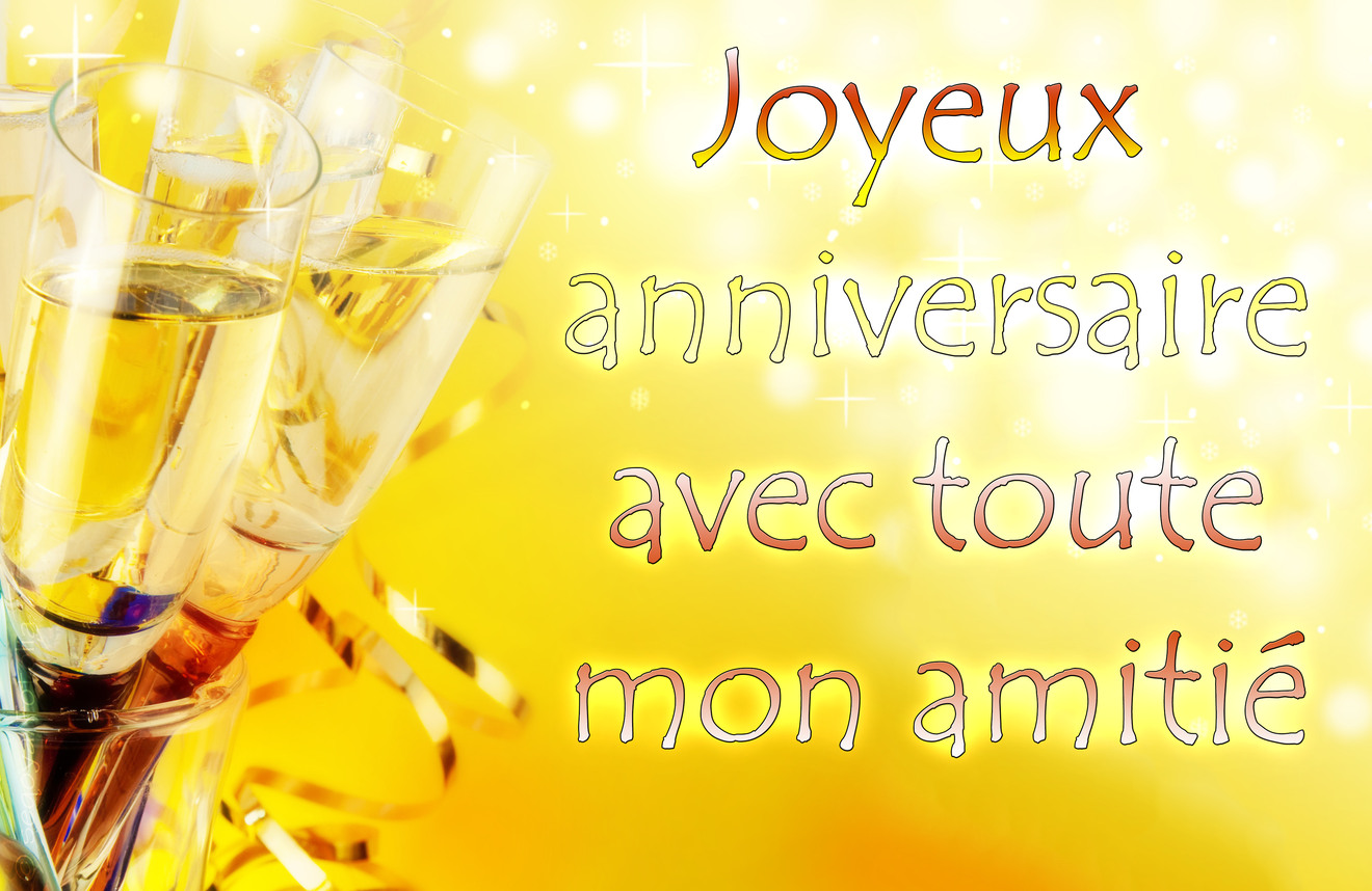 Fabuleux Cartes d'anniversaire amitié - Joliecarte.com MT47