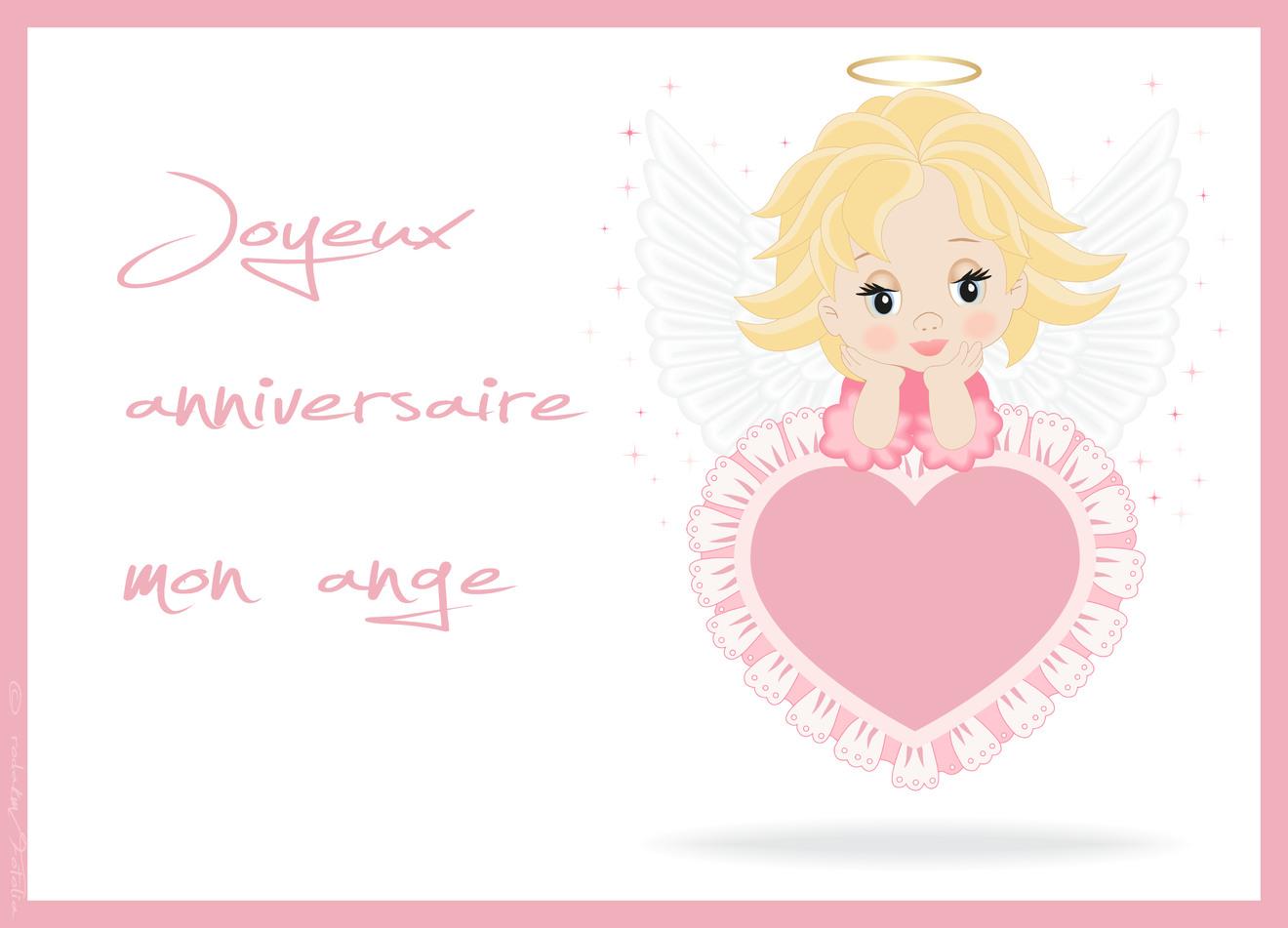 Joyeux anniversaire ange