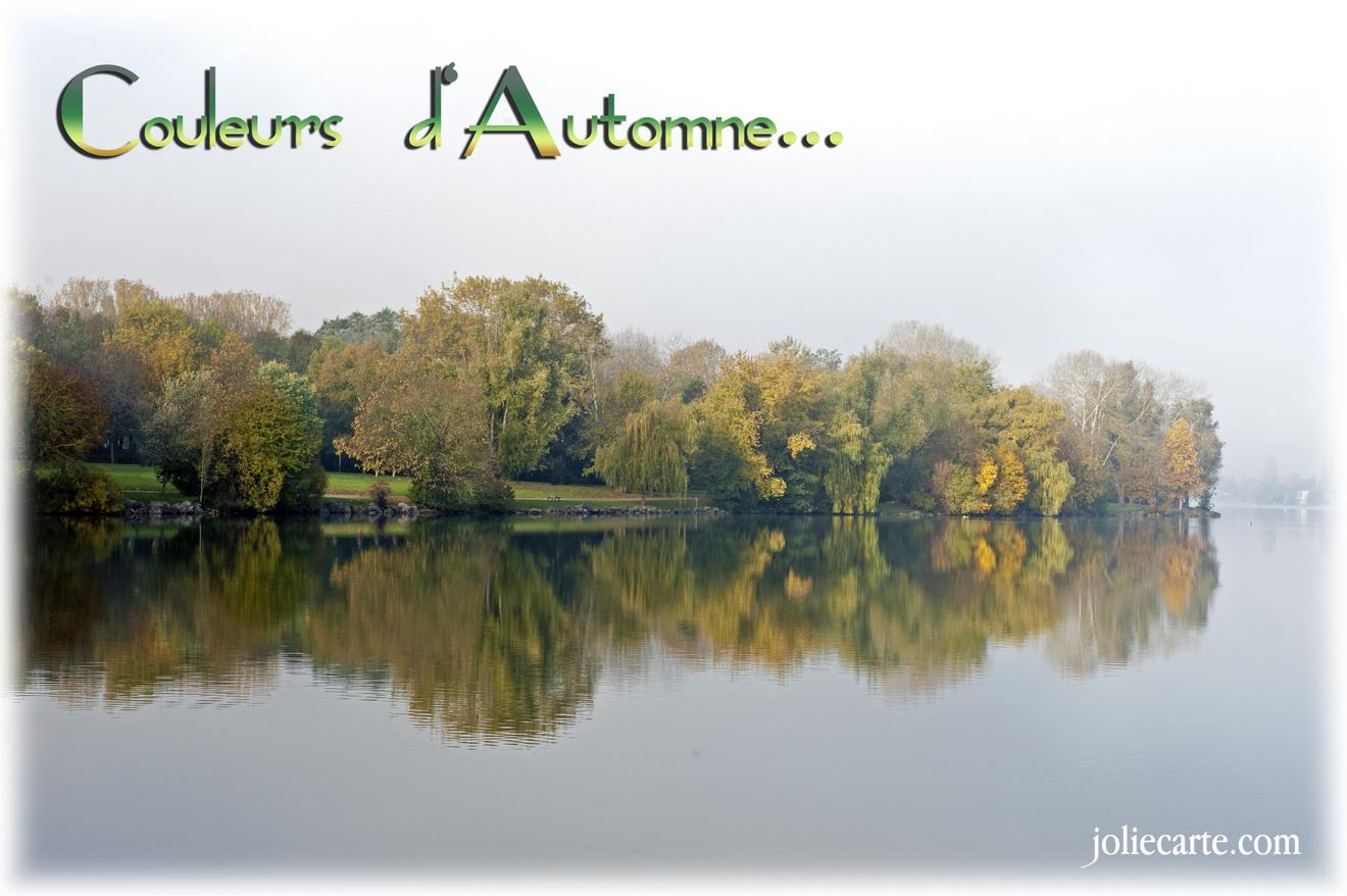 Cartes virtuelles couleurs automne - Joliecarte