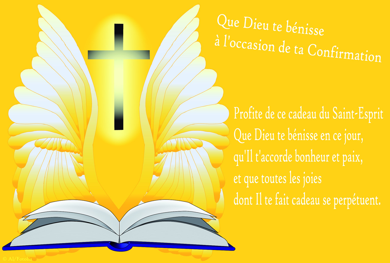 Populaire Cartes virtuelles confirmation communion - Joliecarte AD61