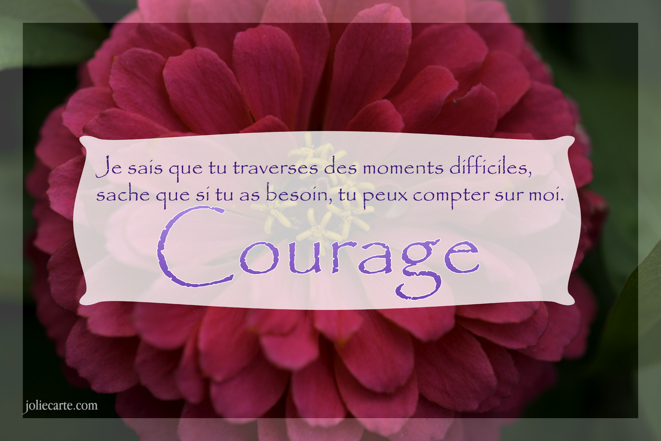 Courage texte