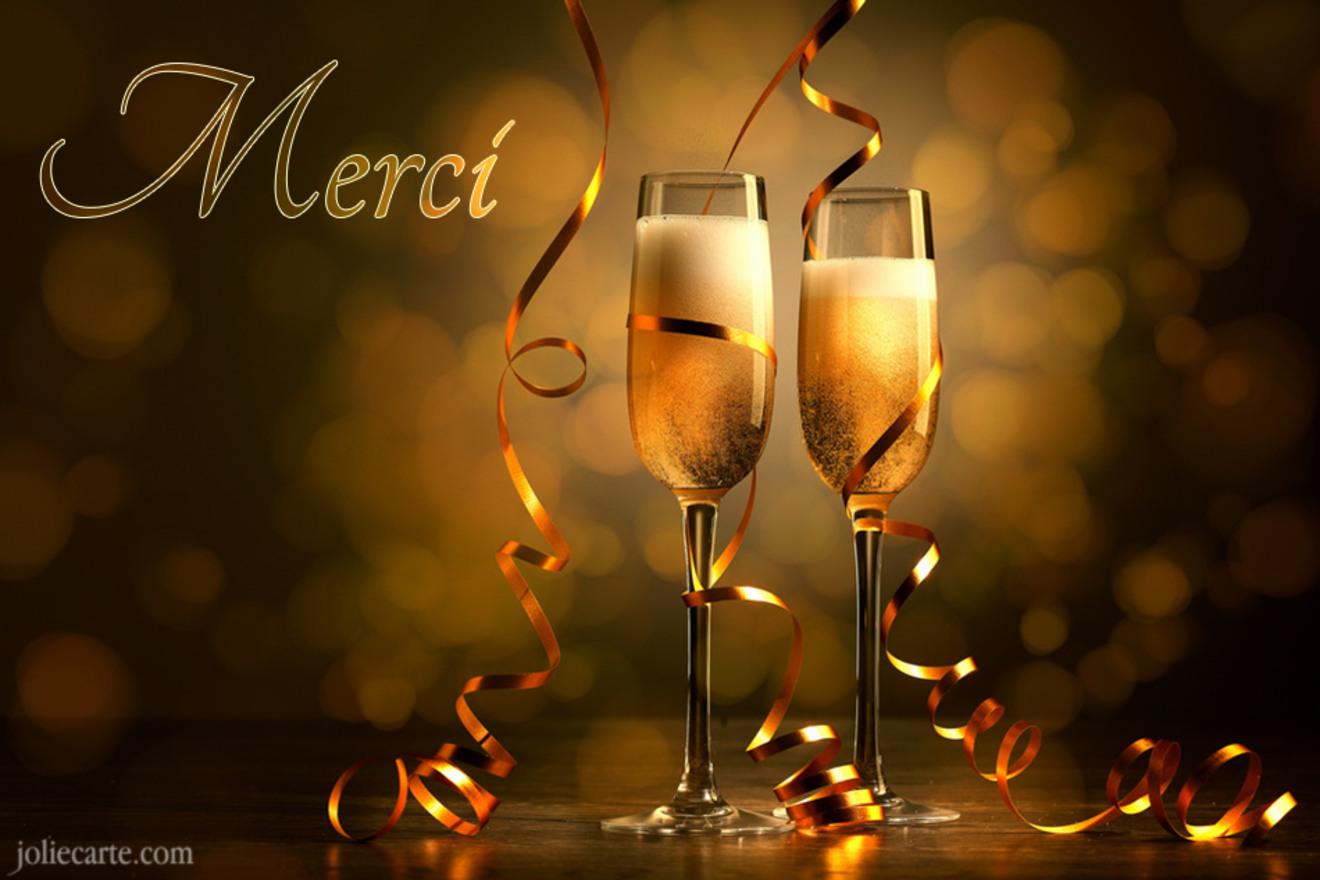 Merci champagne