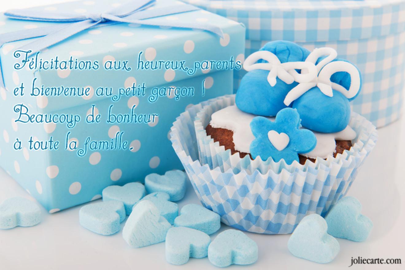 Cartes Virtuelles Felicitations Naissance Garcon Joliecarte
