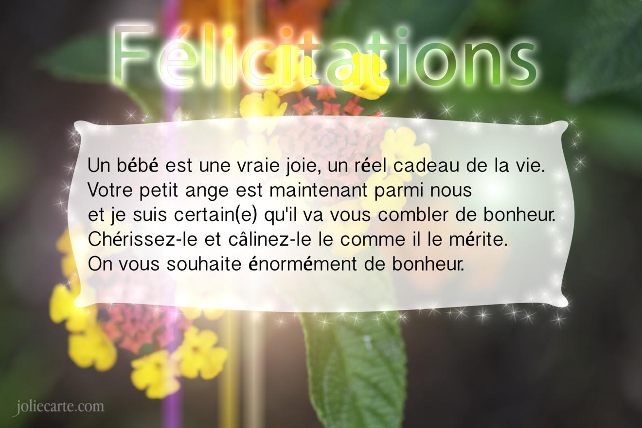 Cartes Virtuelles Naissance Felicitation Joliecarte