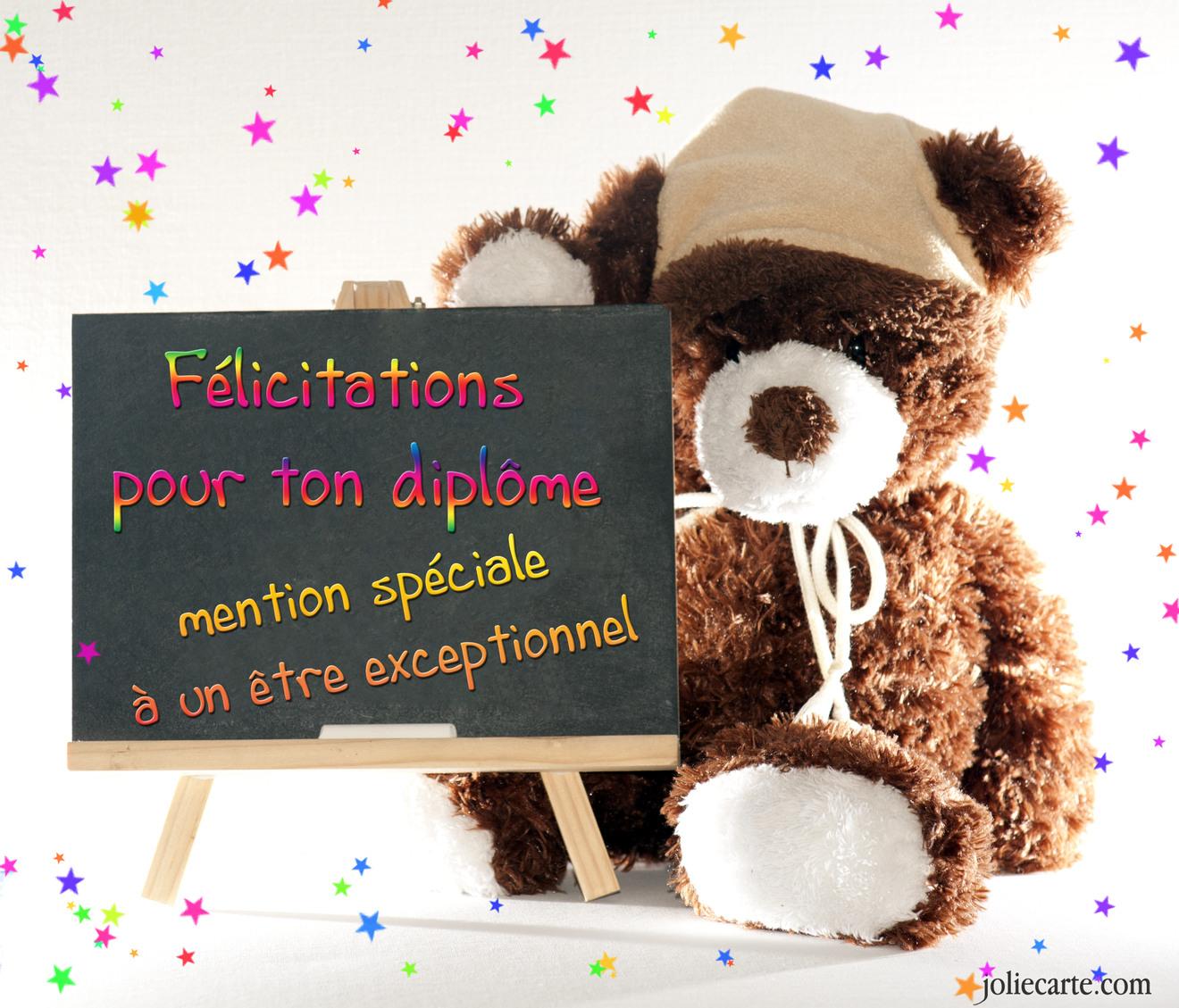 Cartes virtuelles felicitations diplome joliecarte for Achat d un maison
