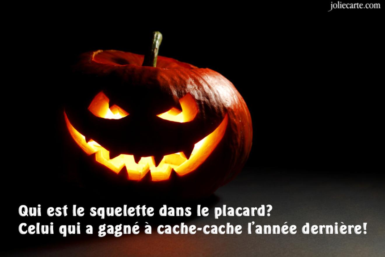 Carte blague halloween