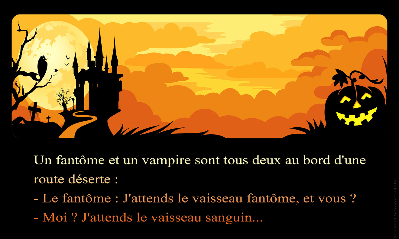 Halloween blague