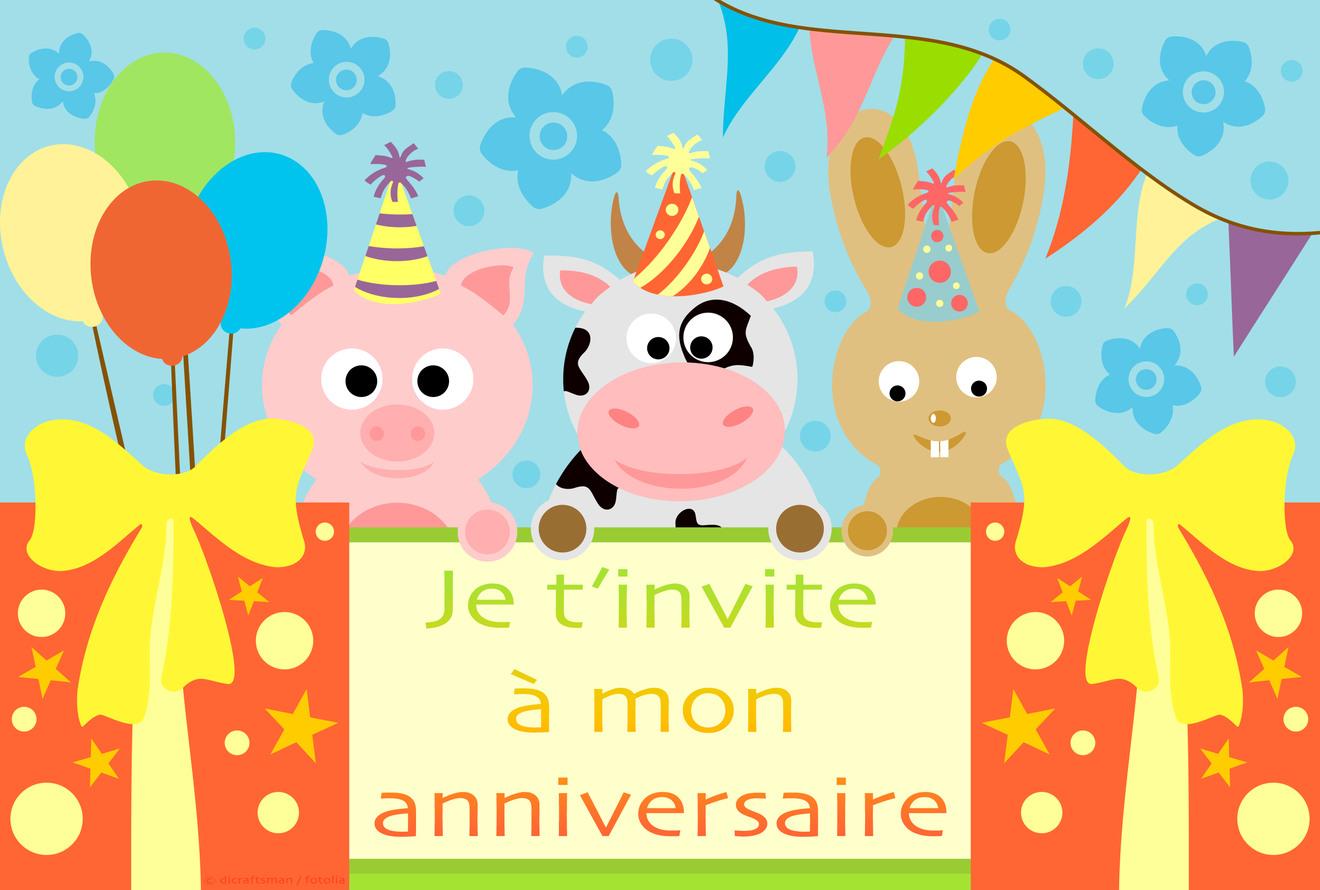 Cartes Virtuelles Invitation Anniversaire Enfant Joliecarte