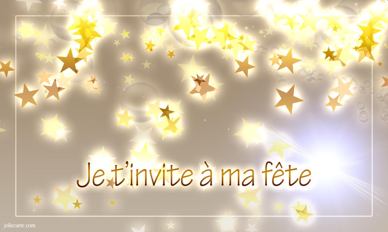 Invitation soiree