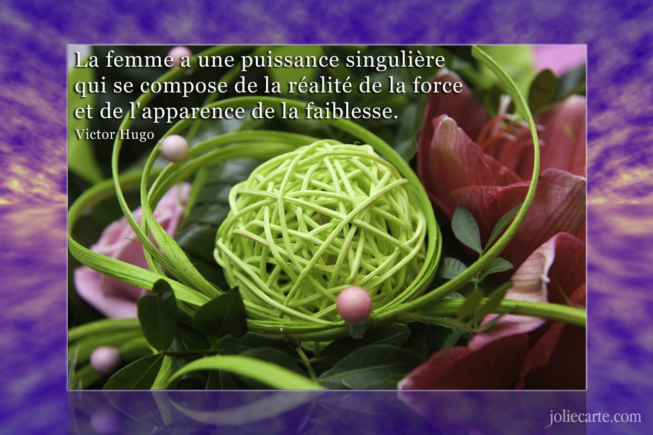 Gut bekannt Cartes virtuelles femme citation - Joliecarte JS44