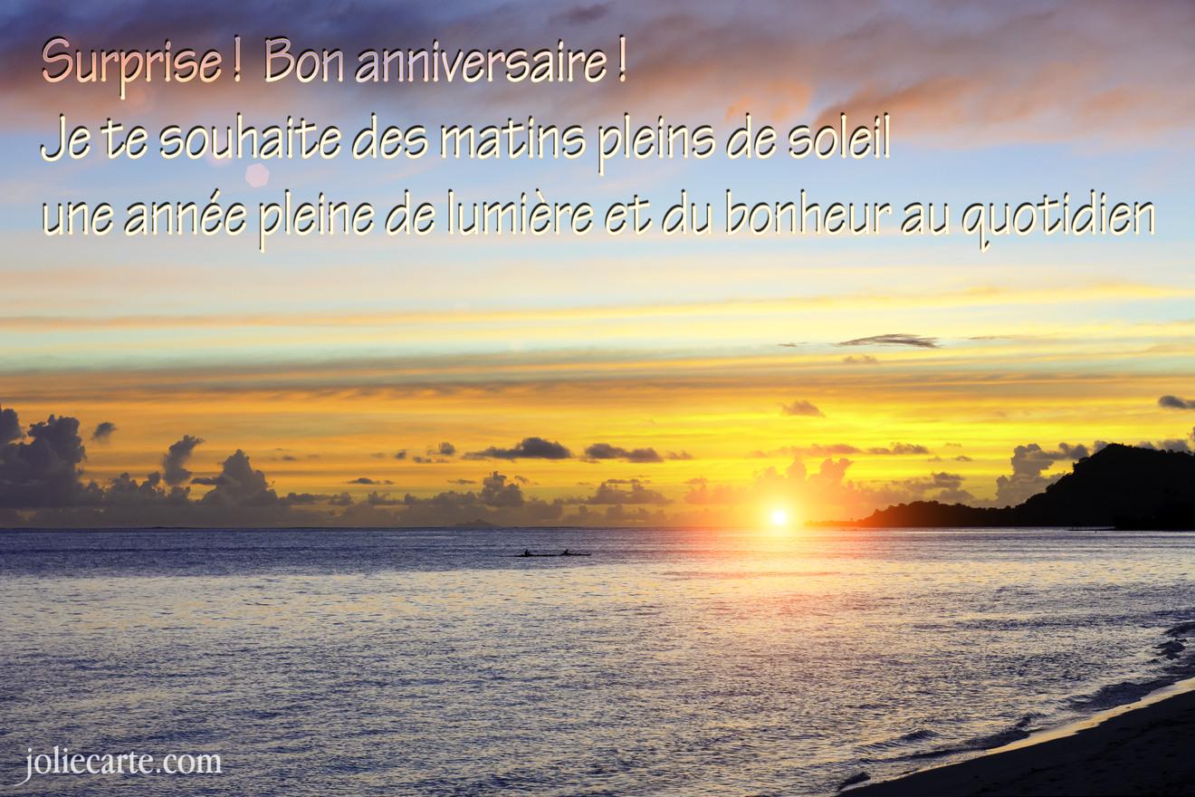 Fabuleux Cartes virtuelles joyeux anniversaire GRATUITES - Joliecarte.com OJ14