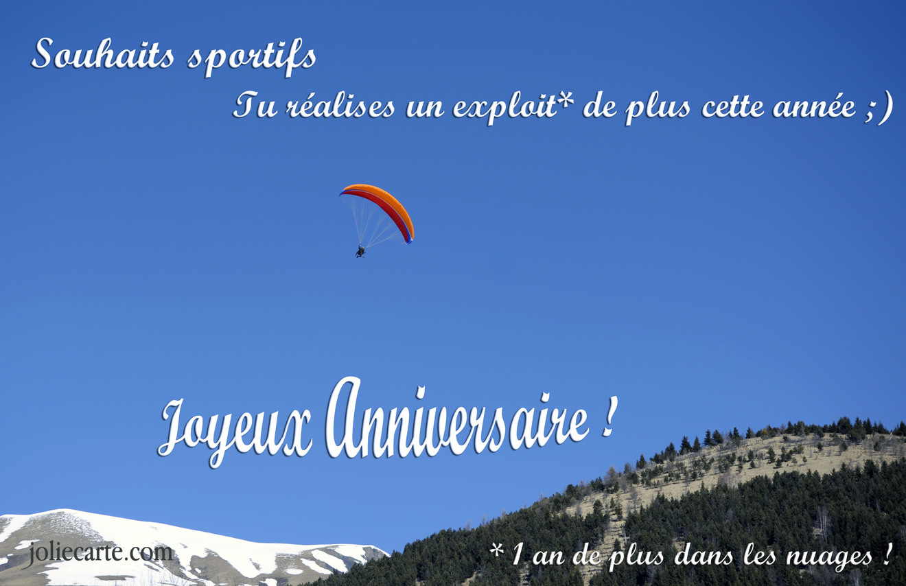 Carte Anniversaire Virtuelle Sport Coleteremelly Official