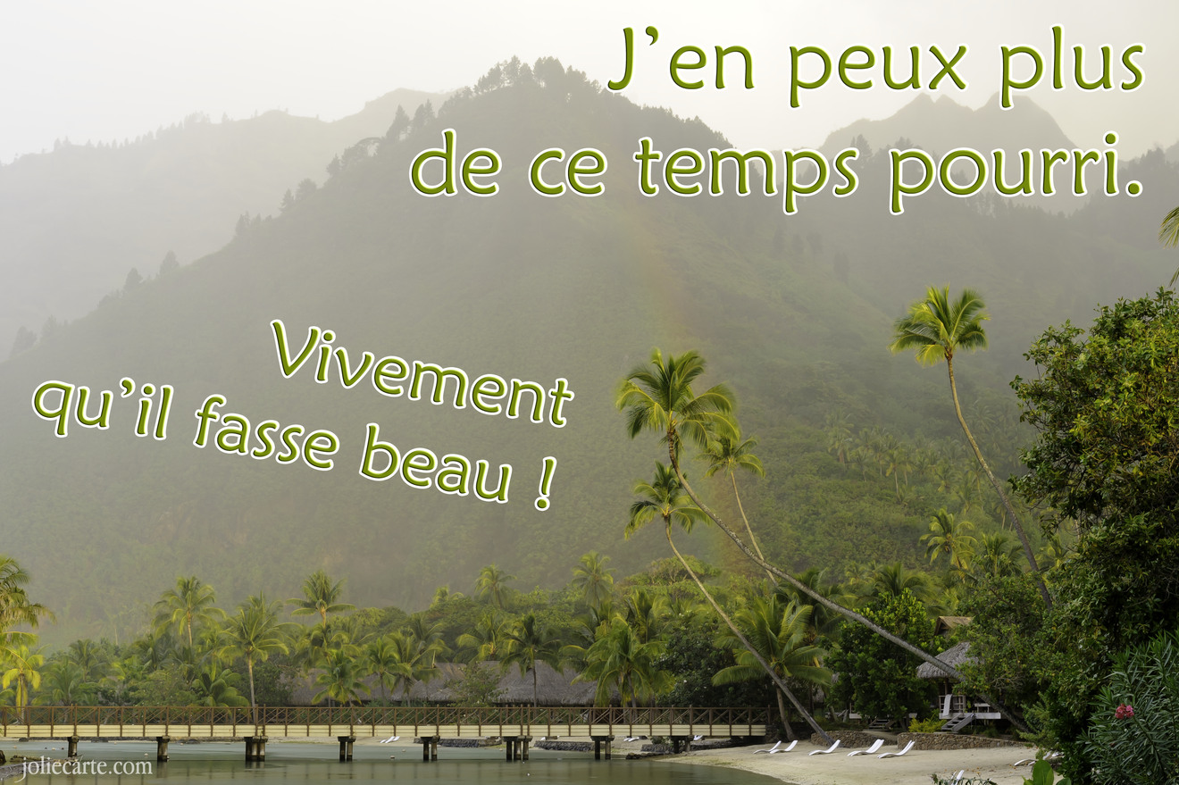Temps pourri