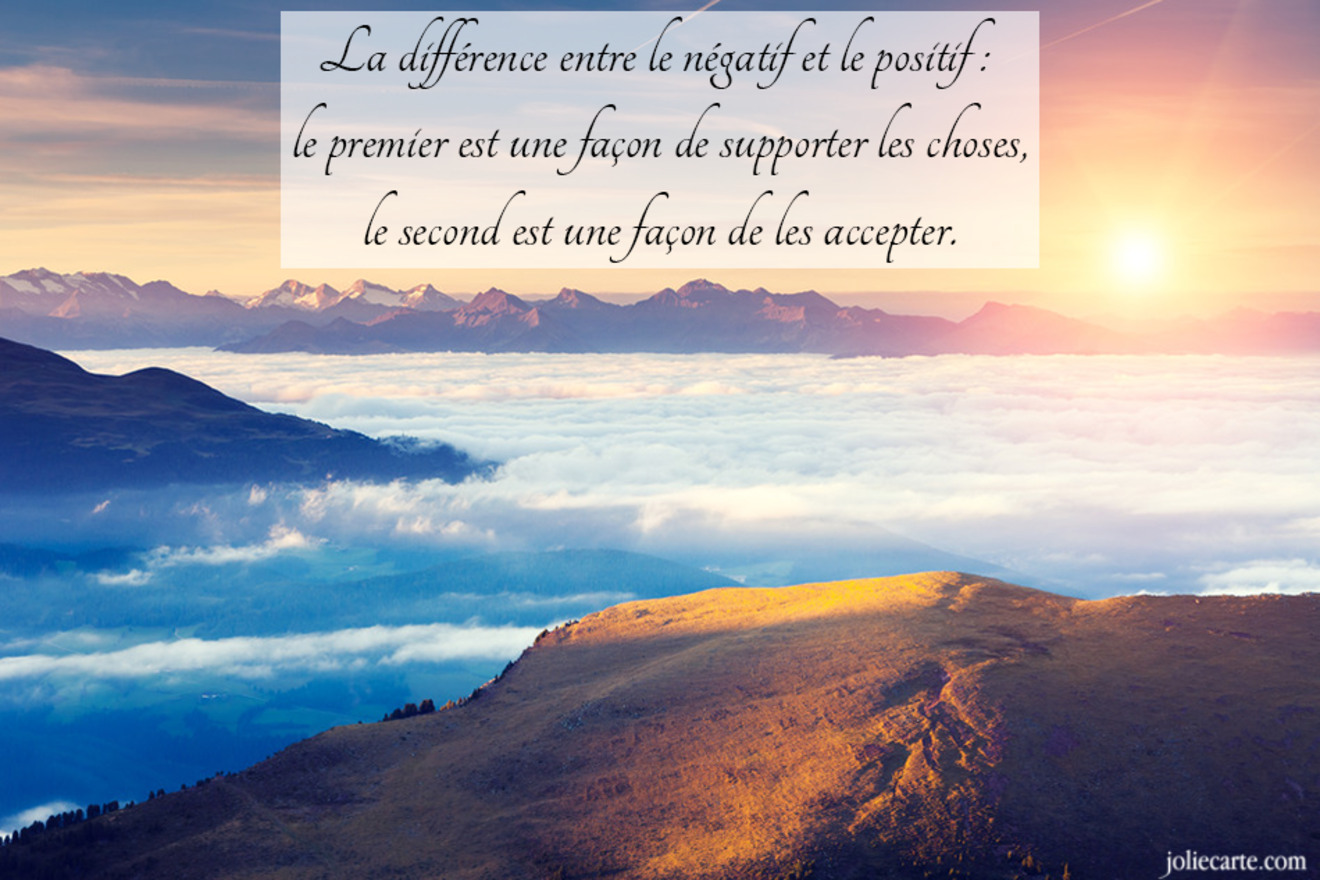 Positives pensees