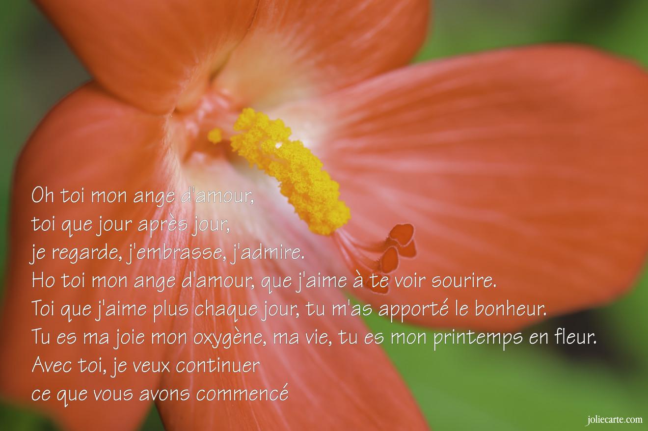 Extrêmement Cartes virtuelles amour poeme - Joliecarte SN55