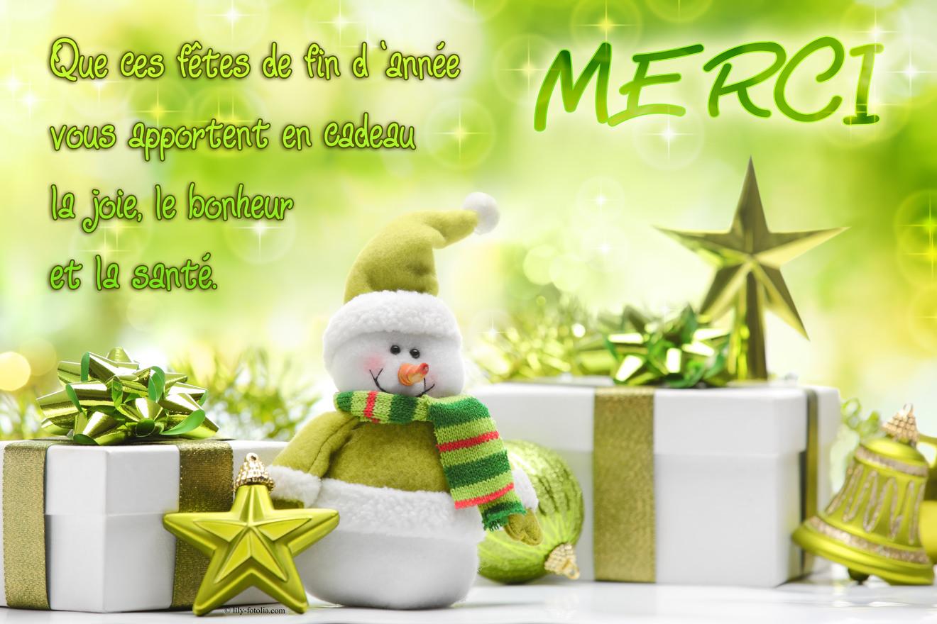 Top Cartes virtuelles voeux merci - Joliecarte ZY58