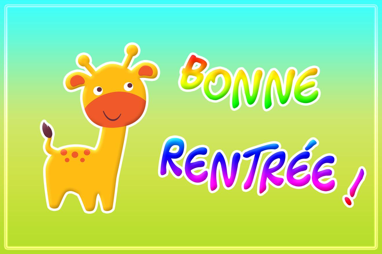 Rentree bonne
