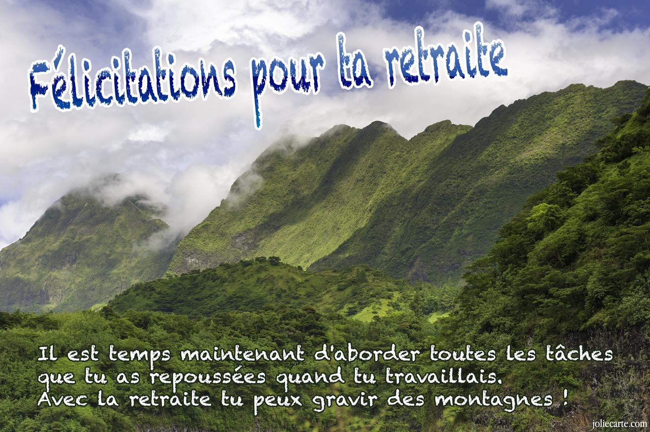 Message Heureuse Retraite