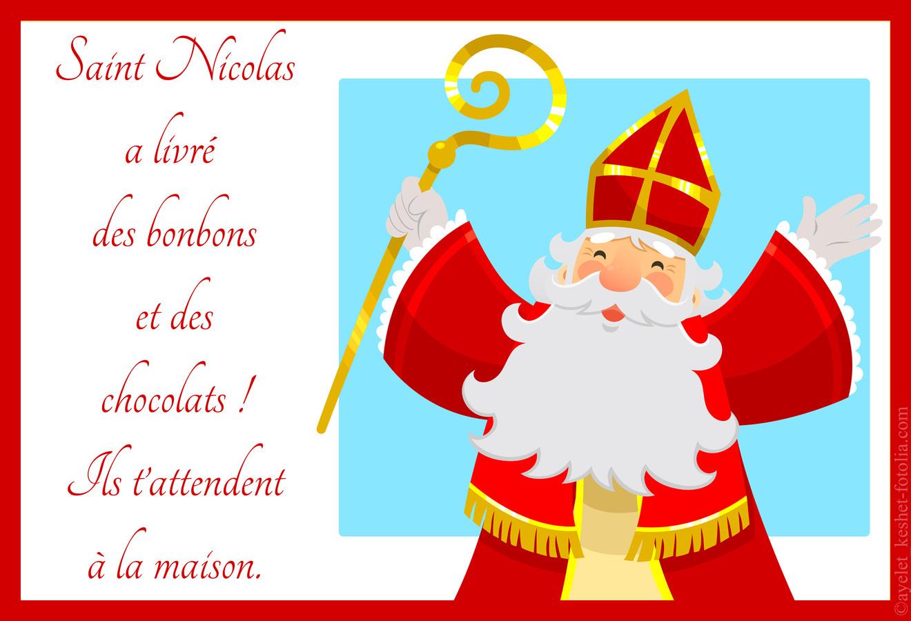 Très Carte de st Nicolas DD84