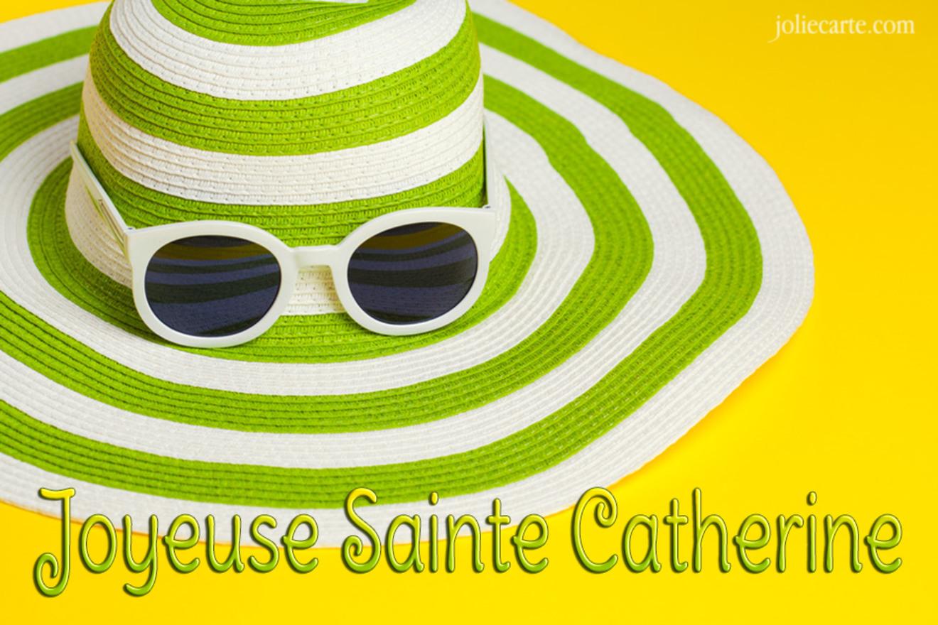 Carte sainte catherine