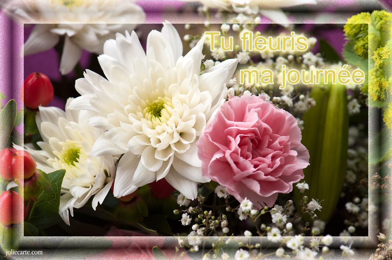 Journee fleuri