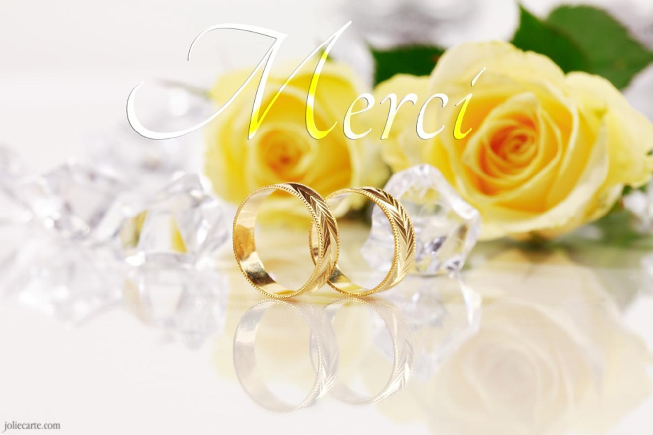 Mariage merci