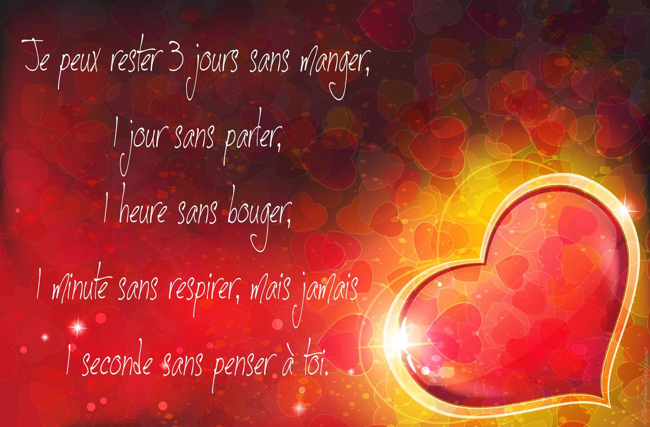 Poeme amour coeur