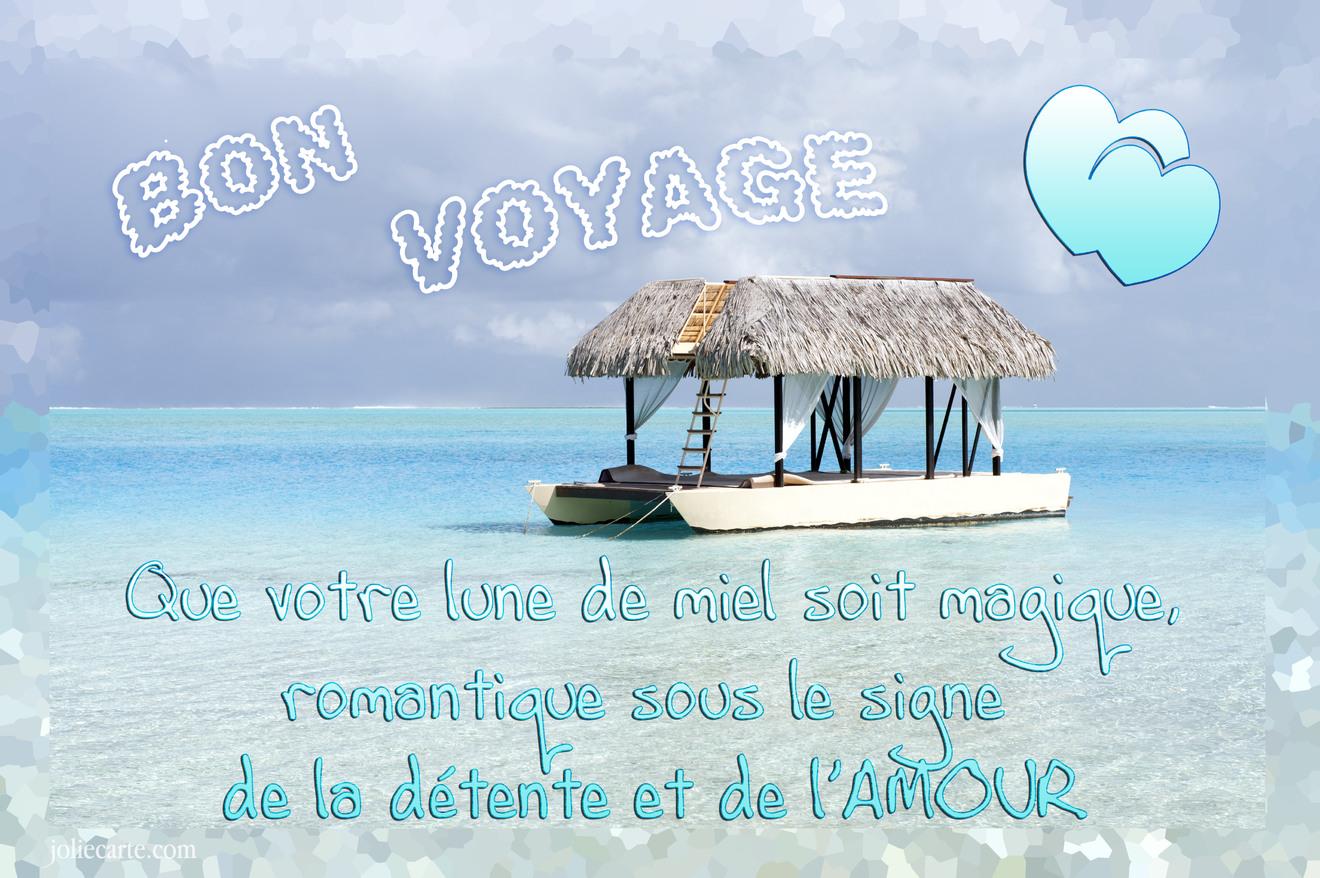 Bon voyage noce