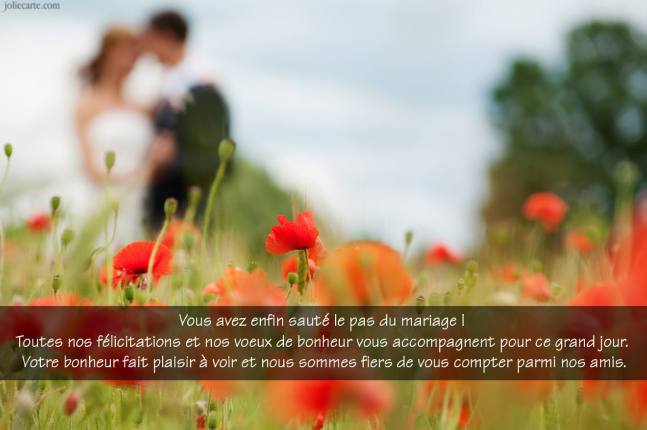 Mariage amitie