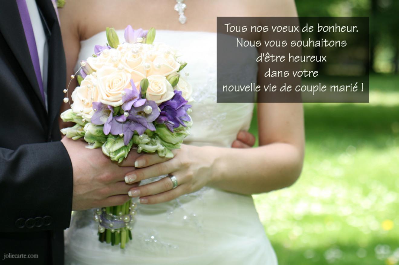 Mariage texte bonheur