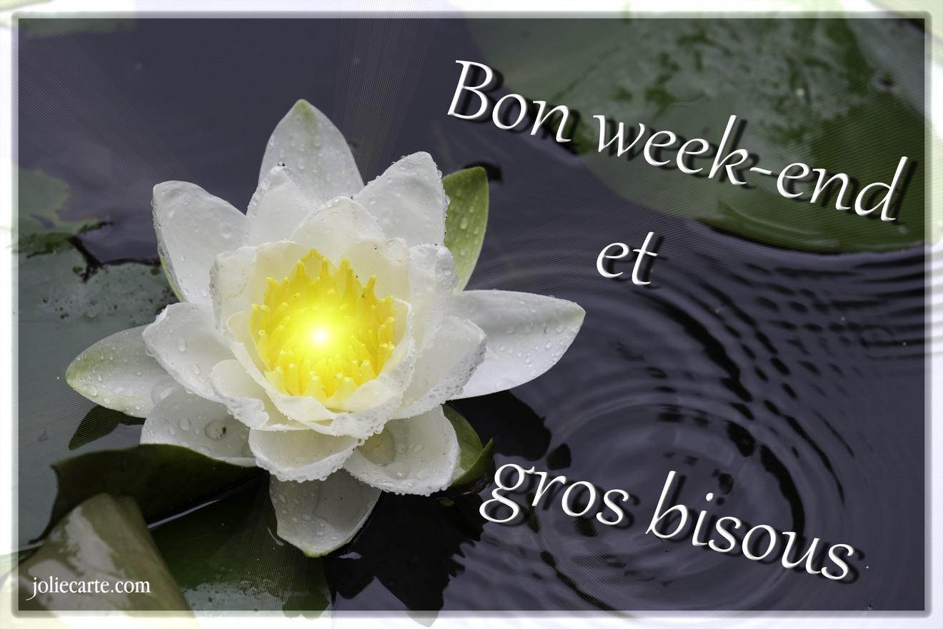 Bisous week end