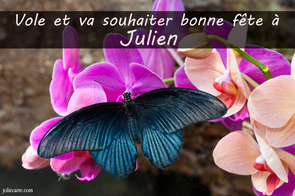 Carte Bonne Fete Julien.Cartes Virtuelles Bonne Fete Julien