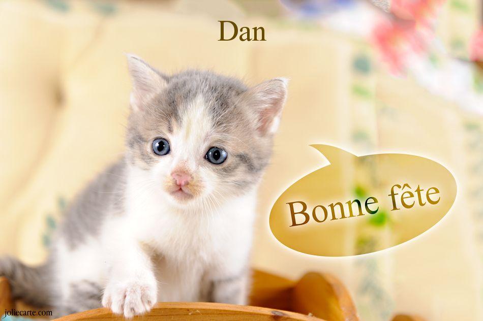 Bonne Fête Dan Dan