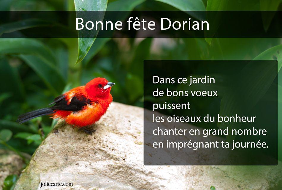 chaque jour un saint  Dorian