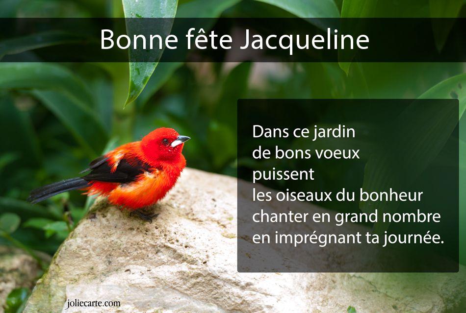 """Résultat de recherche d'images pour """"images gratuites bonne fête jacqueline"""""""