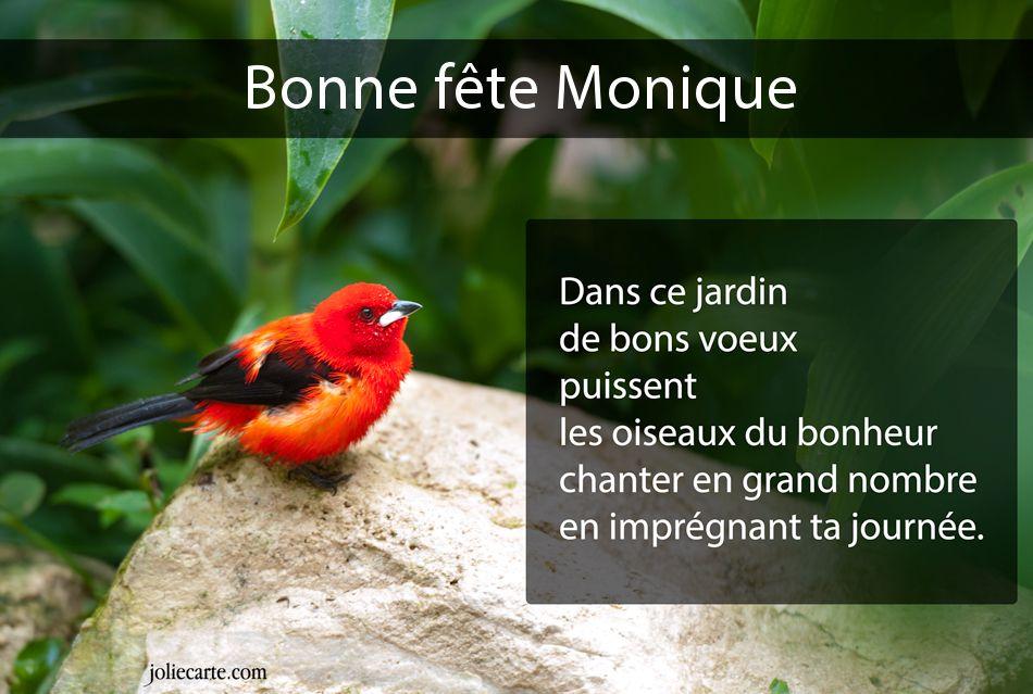 Carte Virtuelle Bonne Fete Monique.Cartes Virtuelles Bonne Fete Monique
