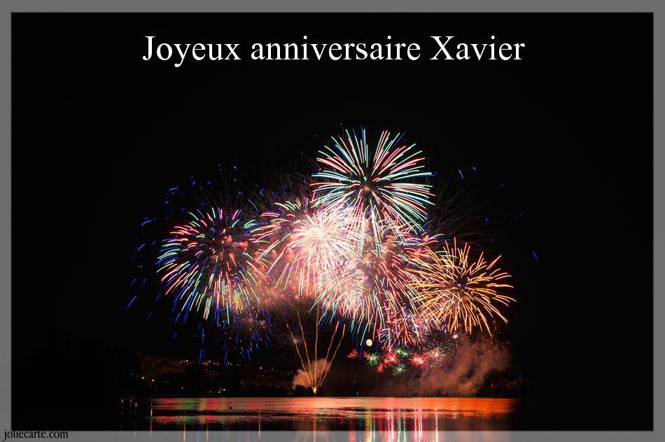 Carte Joyeux Anniversaire Xavier.Anniversaire Xavier Gosupsneek