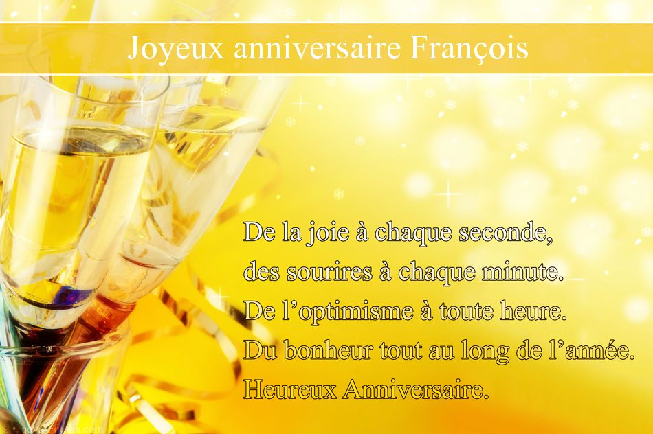 JOYEUX ANNIVERSAIRE SATANAS Francois