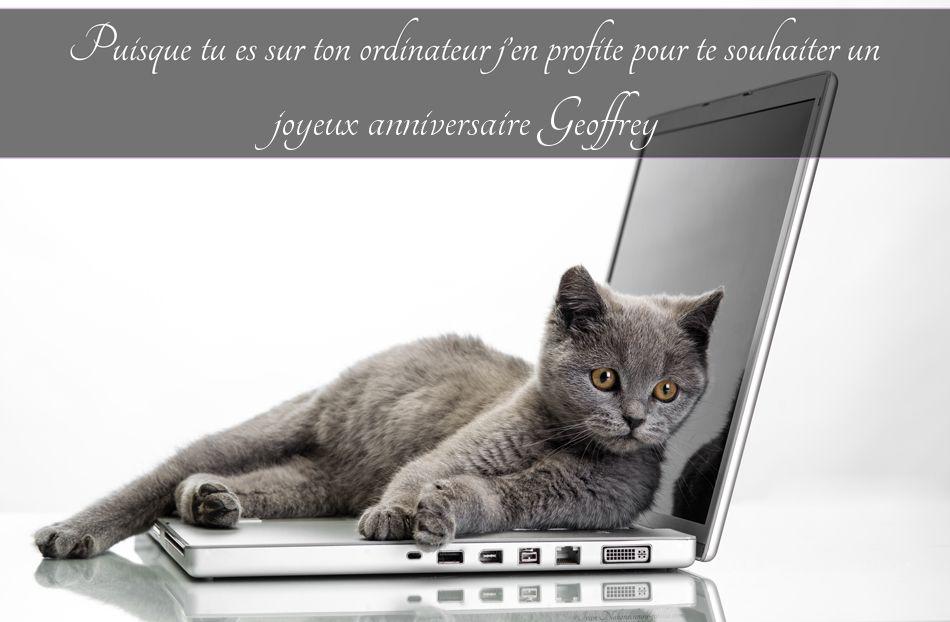 Cartes virtuelles joyeux anniversaire geoffrey - Geoffrey prenom ...